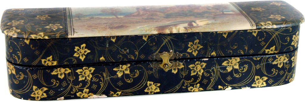 Celluloid Victorian Glove Box