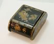 Japanese Lacquer Box with Hinged Lid c. 1900