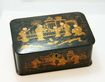 Japanese Lacquer Box c. 1900 with Lock