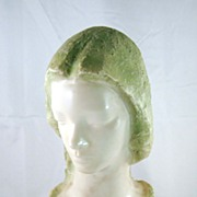 Marble Bust of Woman's Head by V. Galinsky