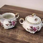 Vintage Fredroberts Co. Japan Cream And Sugar Set