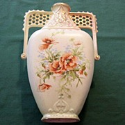 Crown Royal Floretiaware Vase/Ewer Antique