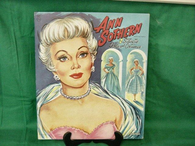 Vintage Ann Sothern Paper Dolls In Folder