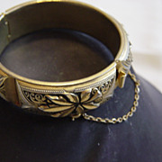 Gold And Silver Metal Bracelet