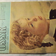 USSR Soviet Life Today Magazine Oct 1963