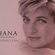 Princess Diana British Royal Mint Commemorative Coin