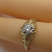 Vintage Estate Diamond Ring