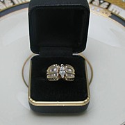 SALE 14Kt Gold Diamond Engagement Ring 2CT.T.W.