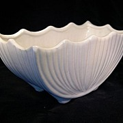 SOLD Pristine McCoy White Planter, Numbered 667