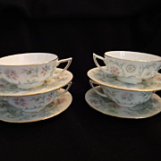 Minton China Cream Soup Bowls Vanessa