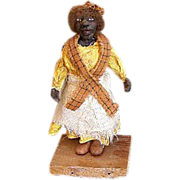 &quot;Miss Bessie &quot; Black one of a kind Art doll