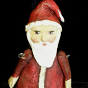 Santa Primitive art doll~OOAK