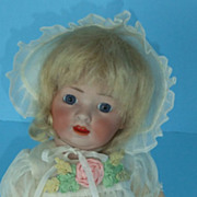 "REDUCED Revalo Old German Bisque Doll 12"" Baby Made By Gebruder Ohlhaver"