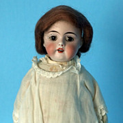 SALE Old German Bisque Doll Kestner Belton Type Head