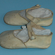 REDUCED Vintage Childrens Shoes For Dolls Or Display Vintage Clothing
