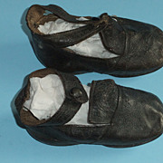 REDUCED Vintage Childrens Shoes For Dolls Or Display Vintage Clothing Antique Childrens Shoes