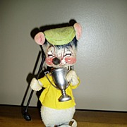 REDUCED Annalee Mobilitee Doll  Mouse 1980's