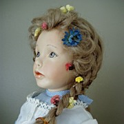 REDUCED Maryanne Oldenburg Vintage Artist Porcelain Doll 1980's Limited Edition