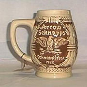 SALE 1982 Limited Edition Arrow Schnappsfest Stein