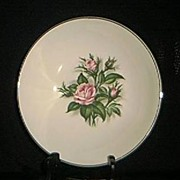 Minerve Rose Vegetable Bowl By Royal China