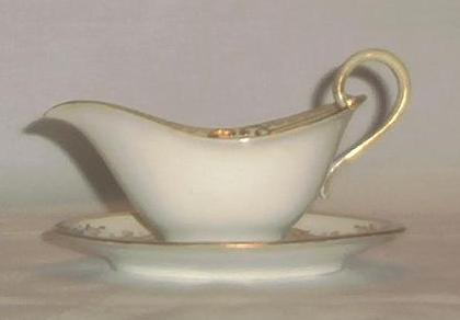 Noritake Gravy Boat and Underplate