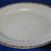 Large John Haddock & Sons Royal Vitreous Platter