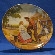 """Oh What A Beautiful Mornin"" Plate From The Oklahoma Series"