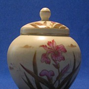 Victoria Carlsbad Iris Decorated Potpourri Pot