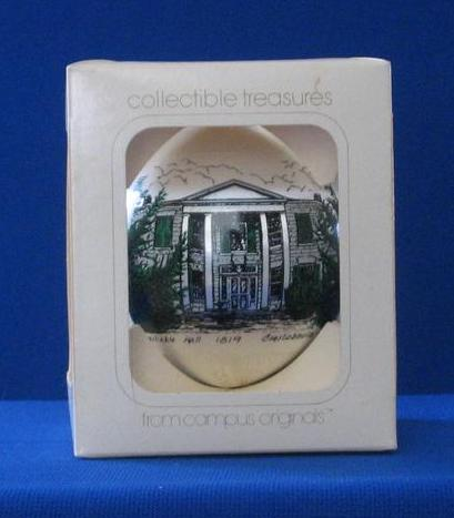 Constable Hall Christmas Ornament With Original Box