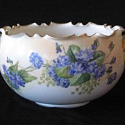 SALE Willets Belleek Hand Painted Bowl