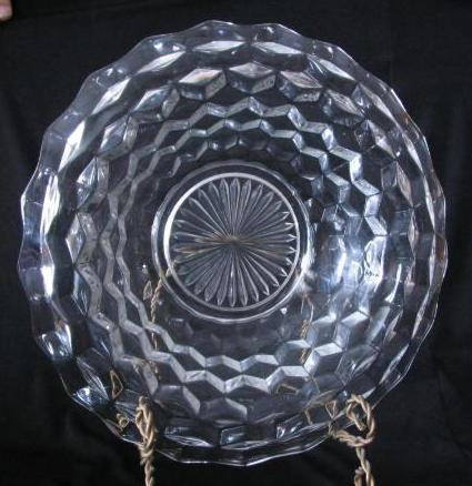 Our House Antiques - Fostoria Glass Co. - Non-etched Patterns