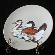 "W. S. George ""The Ruddy Duck"" Collector Plate"