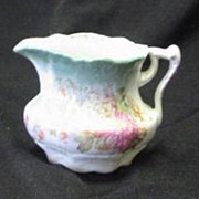 Unmarked Porcelain Hand Painted Creamer