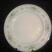 "Sone China Dinner Plate-""Diane "" Pattern"