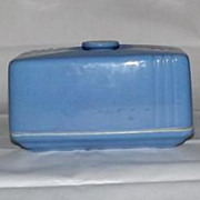 Hall China &quot;Phoenix&quot; Pattern Butter Dish For Westinghouse