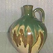 Pottery Loop Handled Jug