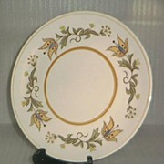 Colorstone Hand Painted Japanese Plate