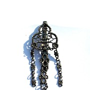 SALE WOW! Stunning Georgian Cut Steel Chatelaine, c.1780!