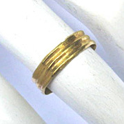 SALE PENDING MUSEUM-WORTHY Elizabethan 22k Gold Child's Ring, c.1550!
