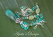 Turquoise Stones ~ Aventurine ~ Kunzite ~ Sterling Silver ~ Necklace