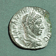 Roman Silver Coin Unidentfied