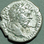 Roman Silver Coin. SEPT. SEVERUS. Den Hercules