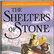 SALE The Shelters of Stone by Jean M. Auel � First Edition Historical Novel