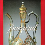 SALE Baccarat by Jean-Louis Curtis - HTF Book about Antiques and Vintage Collectibles
