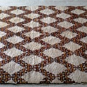 SALE Vintage wool area Rug, hand made in Morocco, large 6� x 8' rectangular
