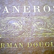 SALE Paneros by Norman Douglas � First American Edition, number 220 of 750 copies sold