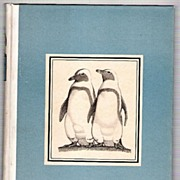 SALE PENGUIN ISLAND by Anatole France, Illustrated by Malcolm Cameron, 1st Edition Thus