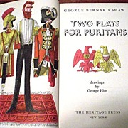 SALE Two Plays for Puritans: The Devil's Disciple, Caesar & Cleopatra by George Bernard Shaw