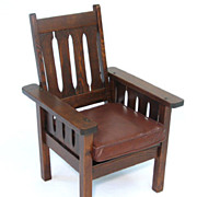 Childs Mission Oak Chair
