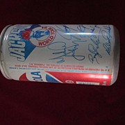 1984 Jackson's World Tour Pepsi Pop Top Can